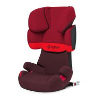 Cybex Solution X-Fix, Rumba Red