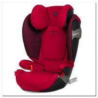 Cybex Solution S-Fix, FE Ferrari Racing Red