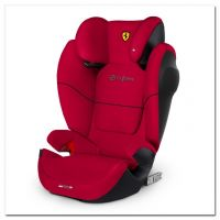 Cybex Solution M-Fix SL, FE Ferrari Racing Red