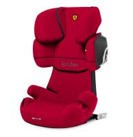 Cybex Solution X2-Fix, FE Ferrari Racing Red (for Scuderia Ferrari)